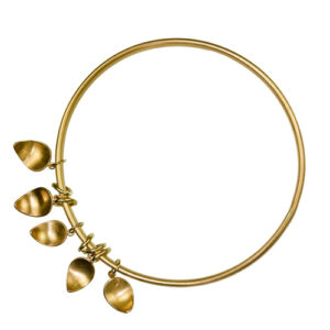 Tear drop bangle