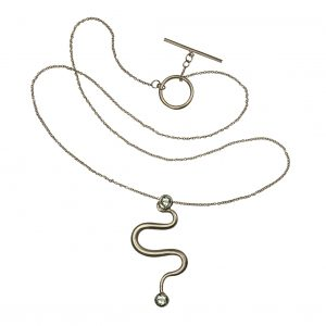 Wavy pendant from Twirl Collection