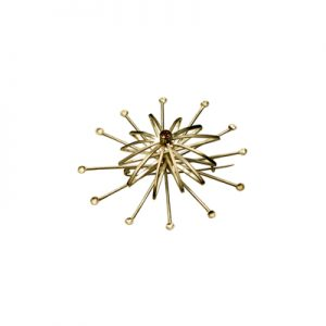 Spray Brooch (gold plated)