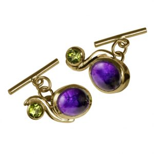 Curve Cufflinks (gold)