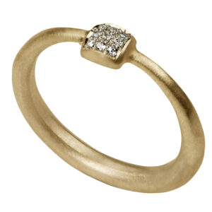 Tapered Ring (yellow gold)