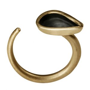 Hollow Ring (gold plated)
