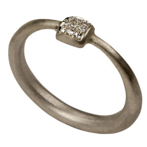 Tapered Ring (white gold)