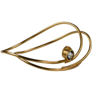 Twirl bangles made in eighteen carat gold