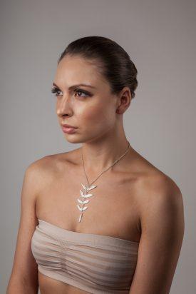 Botanical necklace