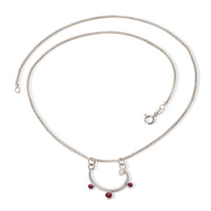 Botanical rounded curve pendant